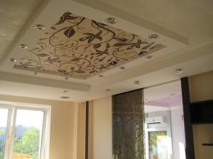 цена на тканевые потолки