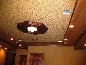 тканевые потолки в миснке