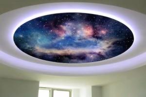 цена потолков звездное небо